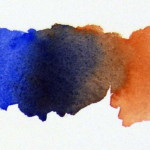 French-Ultramarine-mixed-with-Burnt-Sienna-gives-a-strong-dark-color